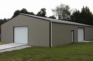 Taylors Pole Barn And Garage Building